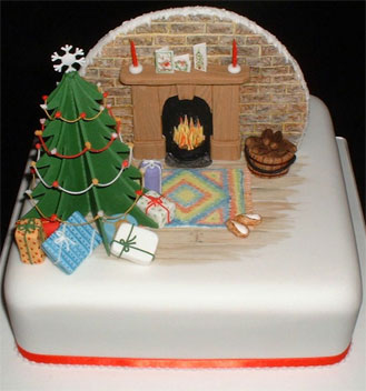 Novelty Christmas Cake Images : Lou s Amazing Cakes